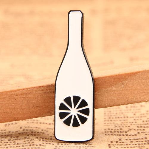 Orange Bottle Custom Pins