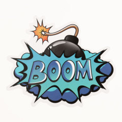 Bomb Custom Stickers