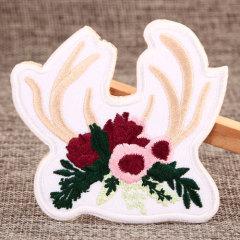 Antler Flower Custom Patches
