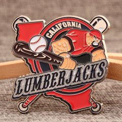 Lumberjacks Baseball Pins