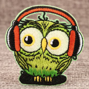 Funny Owl Custom Embroidered Patches