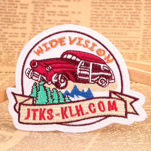 Wide Vision Custom Patches