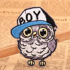 Owl Boy Custom Iron On Patches