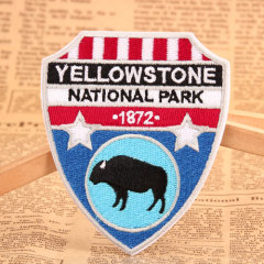 Yellowstone National Park Make Custom Patches