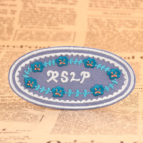 Mosaic Embroidered Patches
