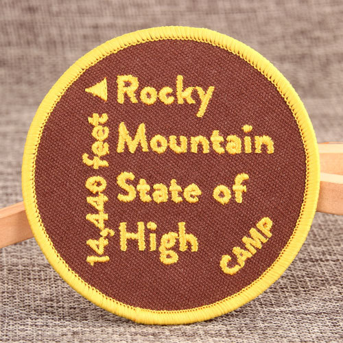 High Rocky Custom Patches