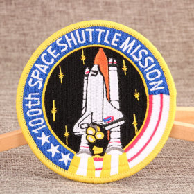 The Rockets Iron On Embroidered Patches
