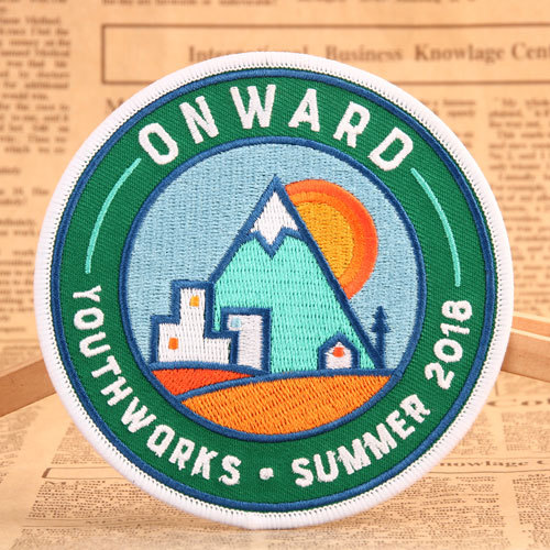 Onward Custom Embroidered Patches
