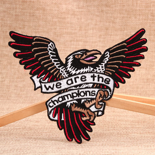 The Champions Embroidered Patches