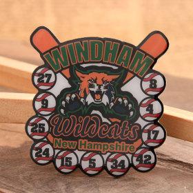 Windham Baseball Trading Pins