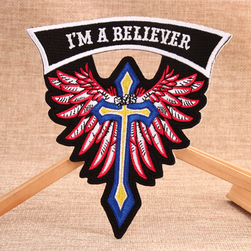 Believer Embroidered Patches