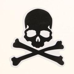 Toxic Substances Logo Custom Stickers