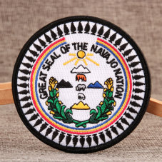 Navajo Custom Velcro Patches No Minimum