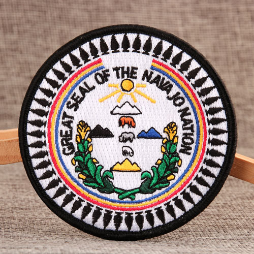 Navajo Custom Velcro Patches No Minimum