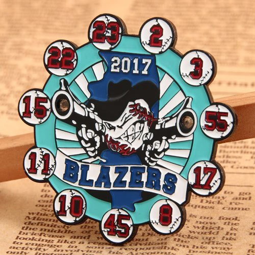 Blazers Baseball Pins