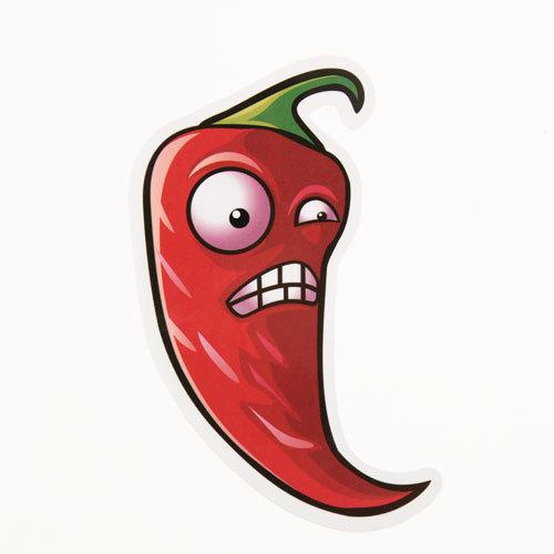 Chili Cartoon Custom Stickers