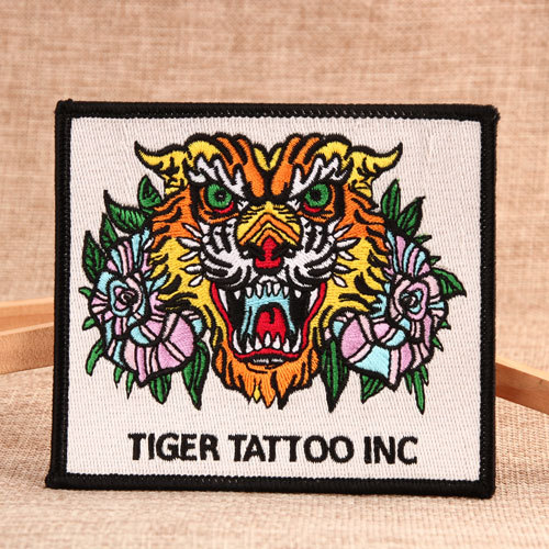 Tiger Tattooing Custom Embroidered Patches