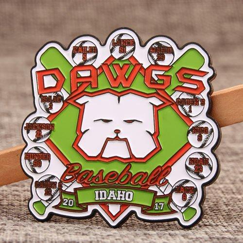 DAWGS Baseball Trading Pins