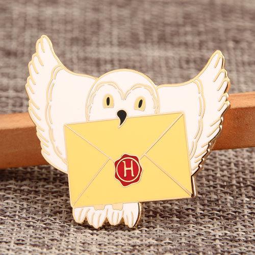 Pigeon Envelope Custom Pins