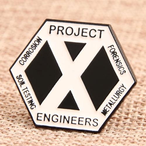 Project Engineers Custom Pins