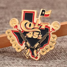 Colt 45's Custom Trading Pins