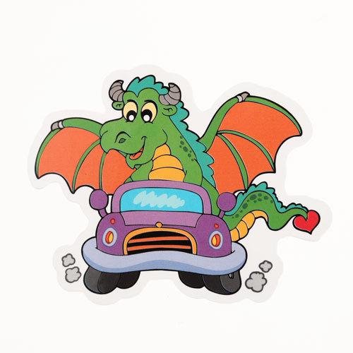 Dragon Car Custom Stickers