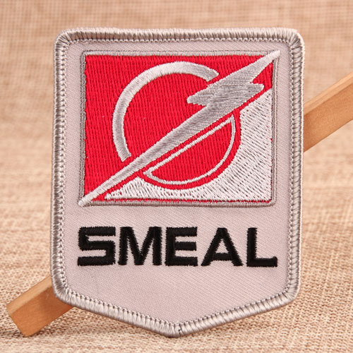 Smeal Custom Embroidered Patches No Minimum