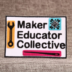 Cheap Education Custom Patches