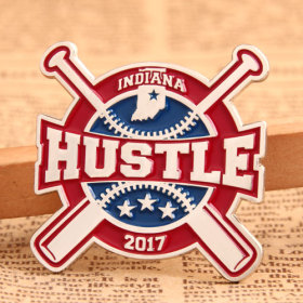 Hustle Baseball Trading Pins