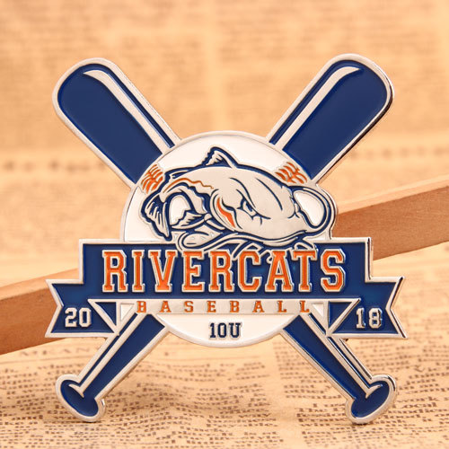 River Cats Baseball Pins