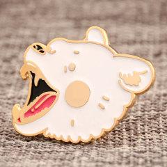 White Bear Custom Pins