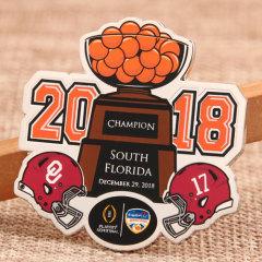 2018 Champion Custom Lapel Pins