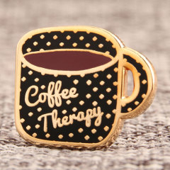Coffee Therapy Lapel Pins