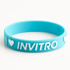 I love INVITRO wristbands