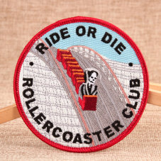 Ride or Die Custom Iron On Patches No Minimum