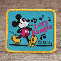 Disney Woven Patches