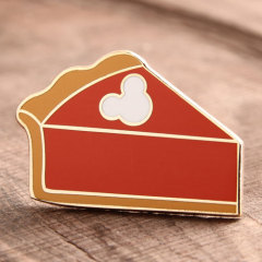 Custom Cheesecake Lapel Pins