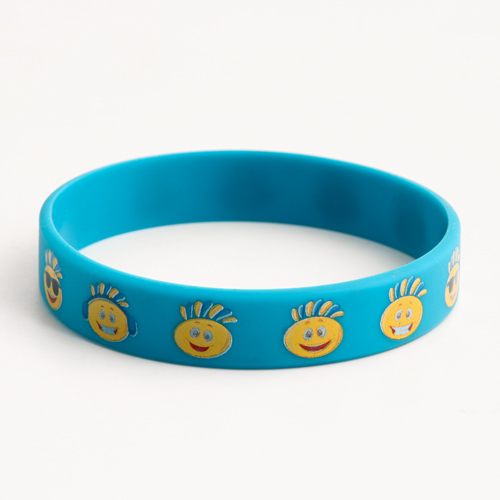 Lovely face wristbands