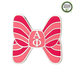 Alpha Phi Bow Enamel Pins