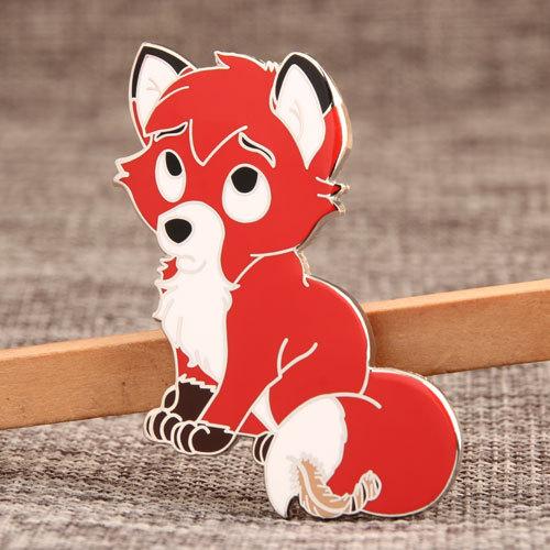 Fox Enamel Pins