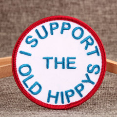 Hippy Make Embroidered Patches