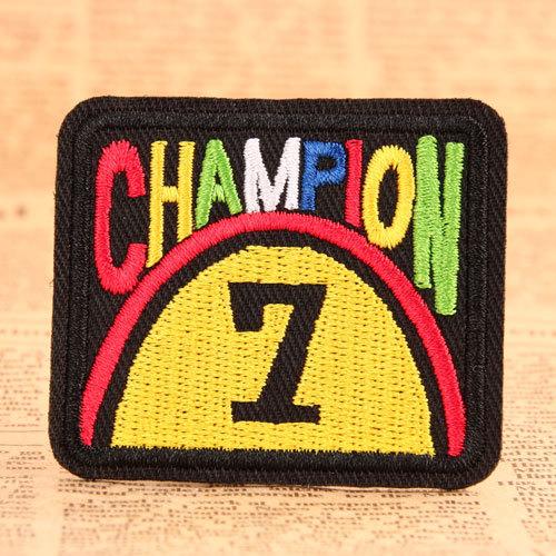 Champion Make Custom Patches