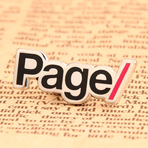 Page Custom Hat Pins