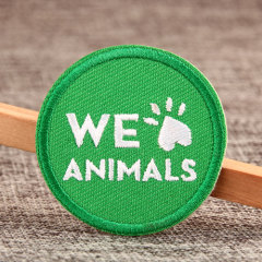 We Love Animals Cheap Patches