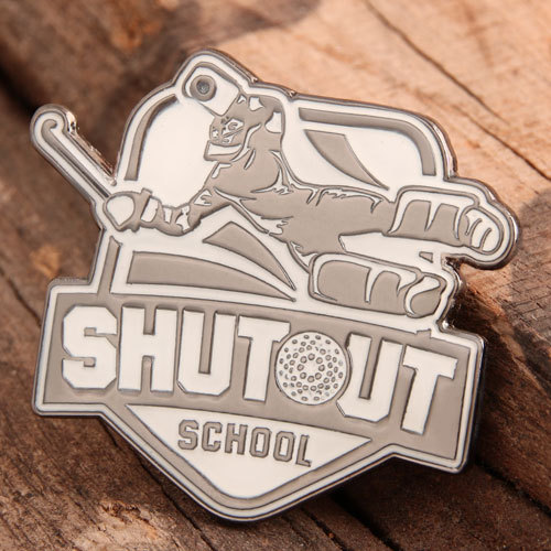 Shutout School Lapel Pins