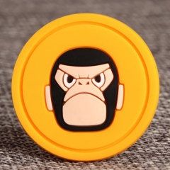 Cartoon Monkey PVC Patches