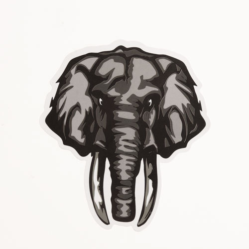 Elephant Custom Stickers