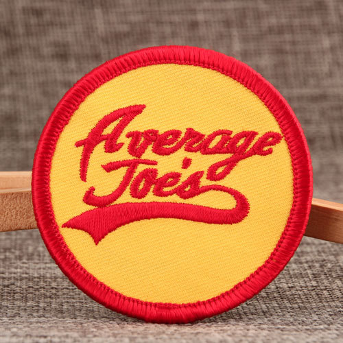 Average Joes Custom Velcro Patches No Minimum