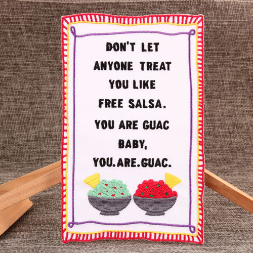 You Are Guac Custom Embroidered Patches