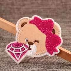 Diamond Bear Custom Patches